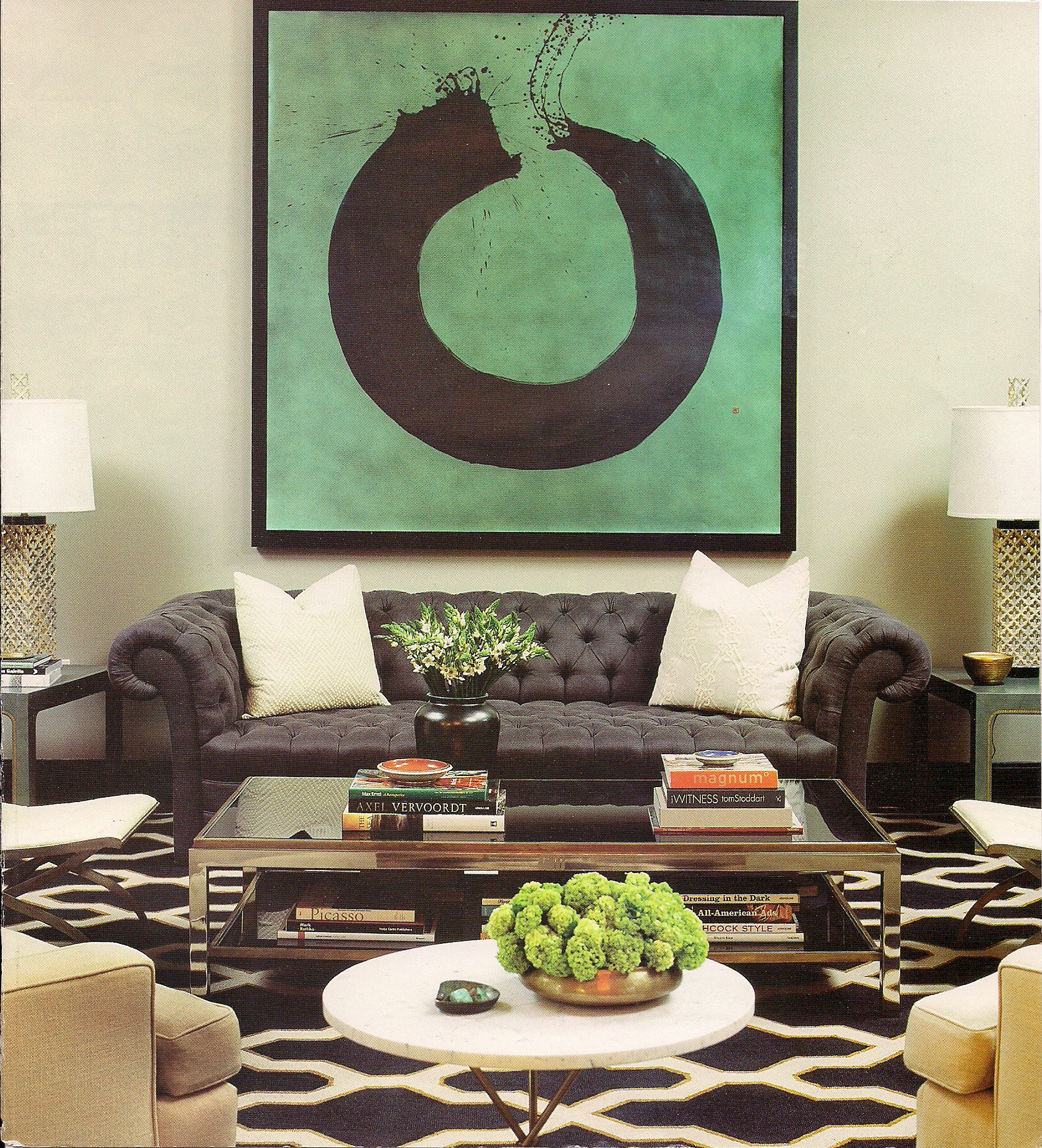 Glamorous Interior Design By Kelly Wearstler: How's Your Ensō Today?