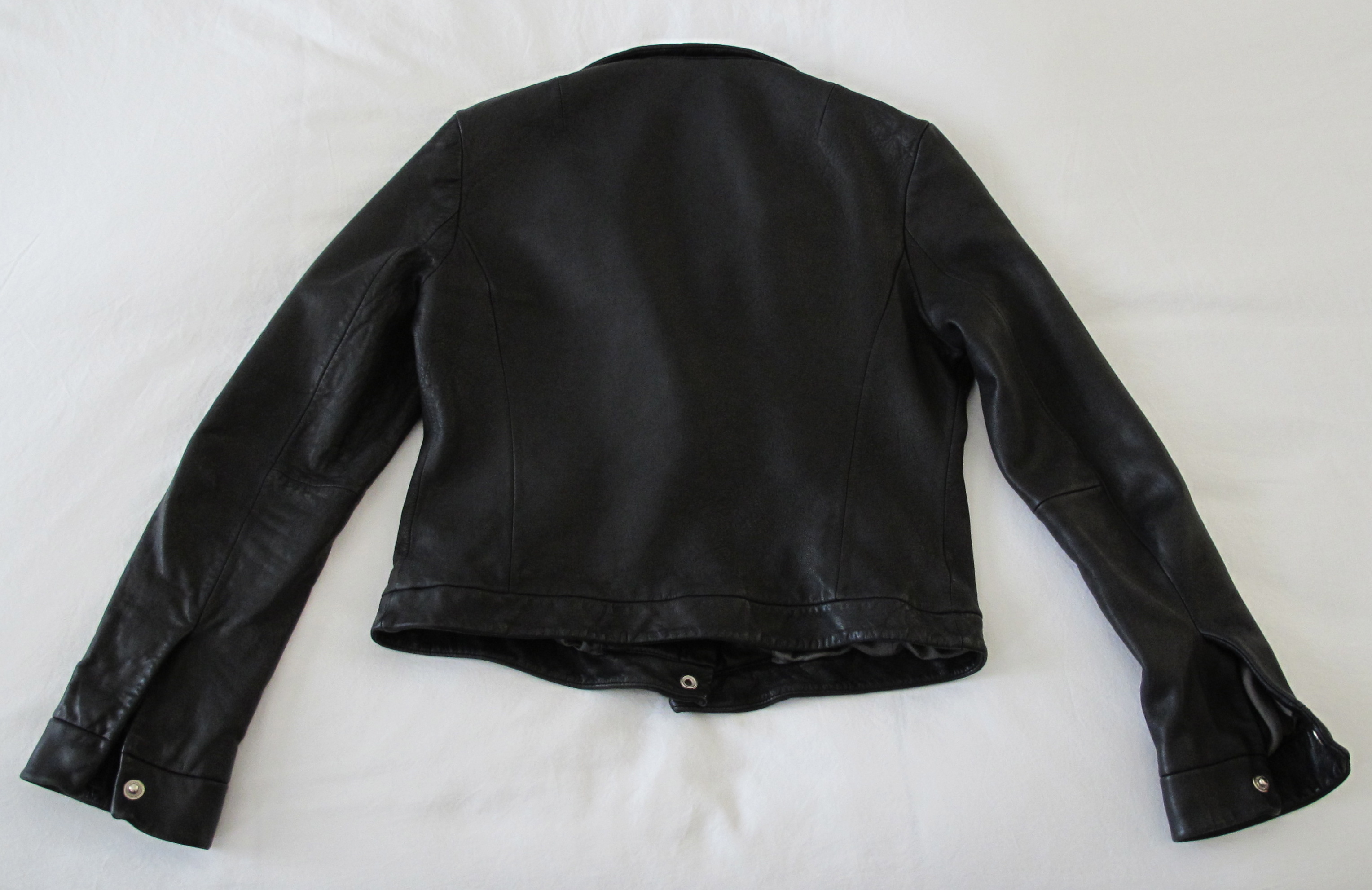 machine wash leather jacket